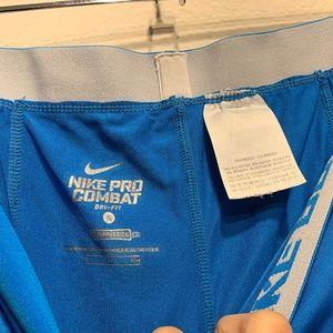 Nike Pants & Jumpsuits - Nike Pro Combat Compression Core Capri Leggings